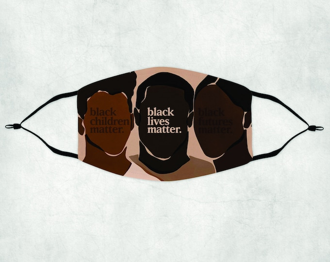 Black Lives Matter Face Mask, Face Mask with Filter, Face Mask, Black Lives Matter, BLM Face Mask, BLM Mask