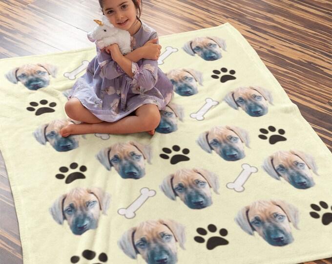 Custom Face Blanket, Custom Photo Blankets, Photo Blankets, Personalized Gift, Personalized Blanket