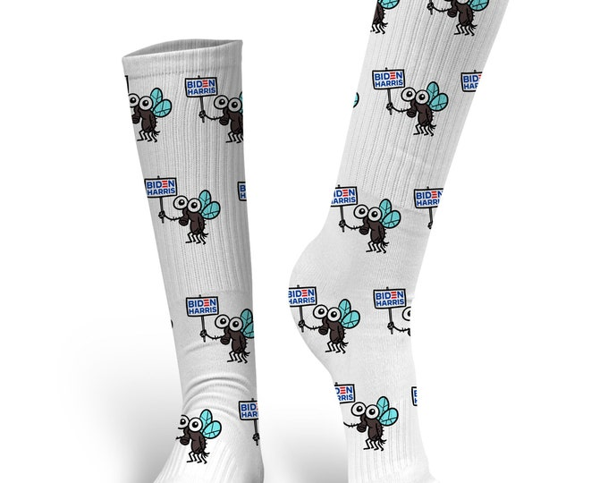 Custom Face Socks, Joe Biden Socks, Biden 2020, Biden Harris 2020, Kamala Harris Socks, Biden Harris Socks, Biden Harris Fly Socks