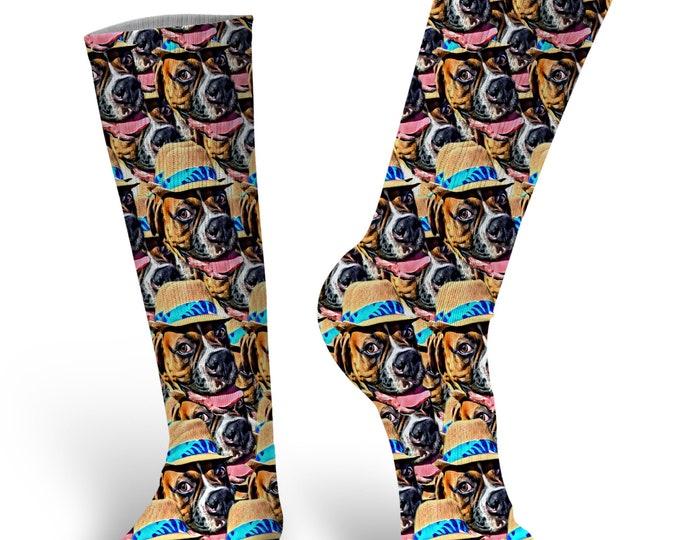 Custom Face Socks, Photo Socks, Custom Socks, Personalized Socks, All Over Print Socks, Picture Socks