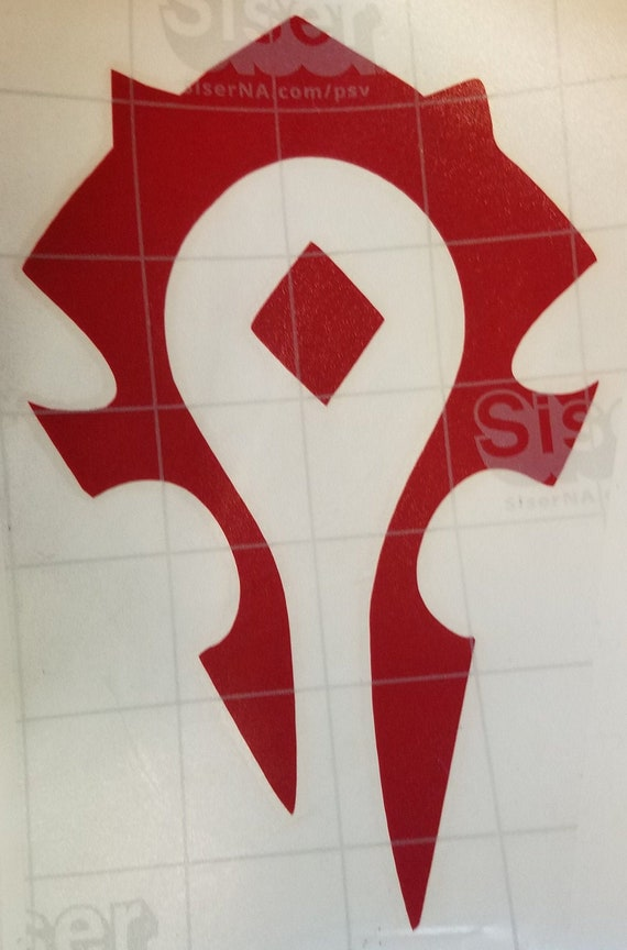 Horde Symbol Etsy I had some people comment on my project, so i thought i would share the. etsy