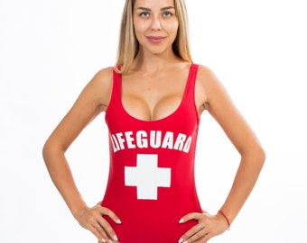 Kid's Life Guard Children Costume Coast Guard Bay Rescue Fancy Dress Party