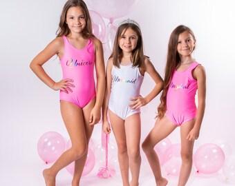 Monogrammed swimsuit ~ Girls Bathing Suit Summer 2018 Girls Monogrammed Swimsuit One Piece~ Monogrammed Swim suit ~ Girls Swimsuit ~ See