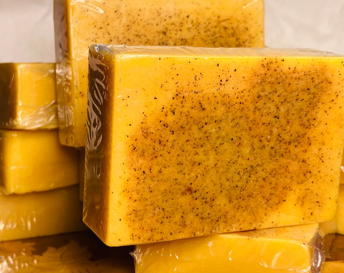 Brightening Oatmeal Tumeric Soap