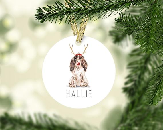 Personalized Dog Ornament Custom Dog Ornament Custom Dog