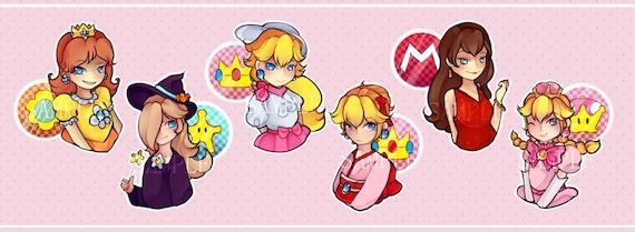 Mario Kart World Tour Stickers