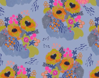 Flowerfield - Morning | Flower Market | Courtney Cerruti | Quilters Cotton | Conservatory Collection | 1/2 Yard +