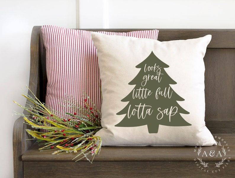 Looks Great Little Full Lotta Sap SVG Christmas Vacation Svg image 1