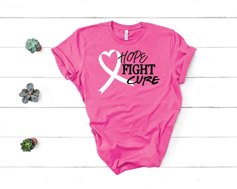 Hope Fight Cure Shirt Masswerks Store