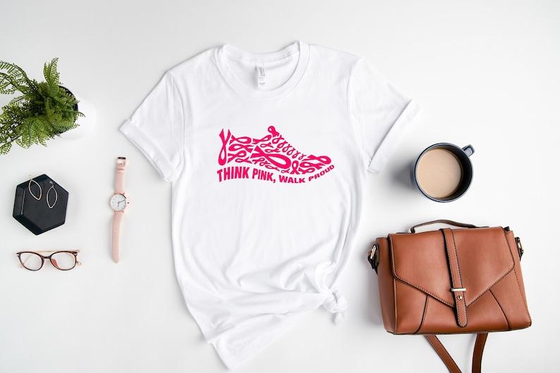 Think Pink Walk Proud Shirt Masswerks Store