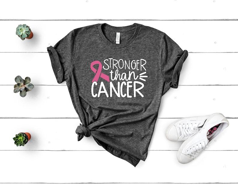 Stronger Than Cancer Shirt Masswerks Store