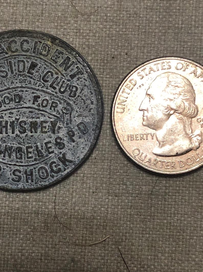 Vintage Lakeside Club voucher coin