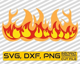 photo relating to Printable Flames identified as Printable flames Etsy