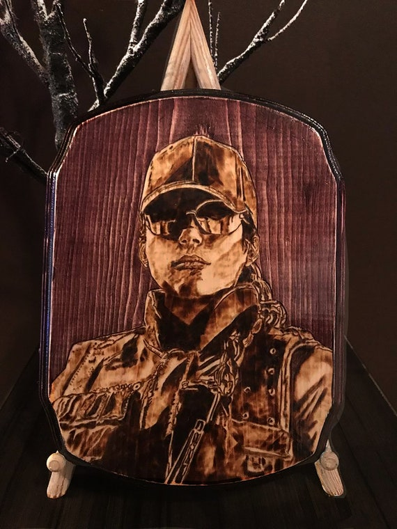 Pyrography Wood Burning Rainbow Six Siege Ash Etsy