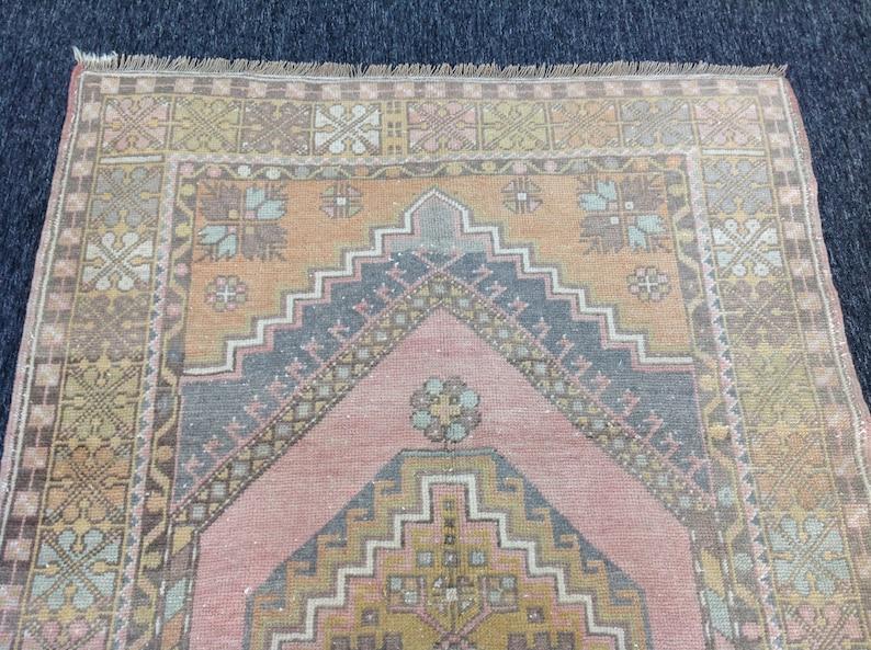 area rug wool rug Turkish rug vintage  rug bohemian rug 3.6 x 5.10 ft handmade rug boho rug colorful rug rug red rug nomadic rug