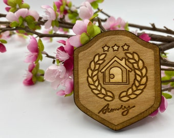 HHA Home Award - Wooden Magnet