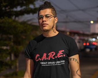 C.A.R.E Unisex T - Black