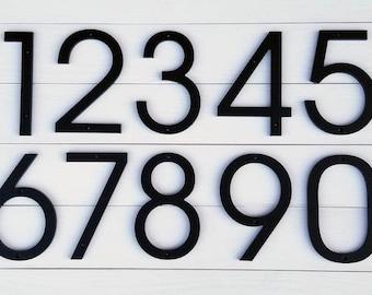 4'' Modern House numbers, Address number, Door number, Avalon font
