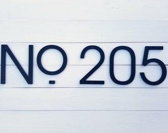 8'' Modern House numbers, Address number, Door number, Avalon font