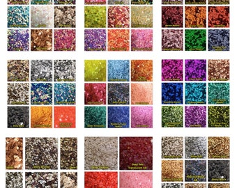 Iridescent opaque 3mm 4mm Round AB Loose Sequins Clothes Sewing Wedding Craft 5g