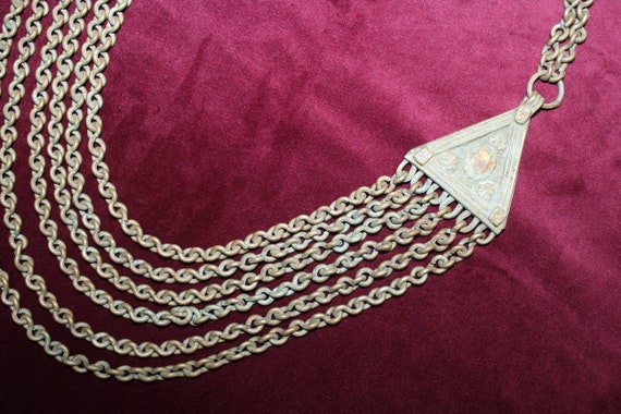 Multi chain Banjara necklace.