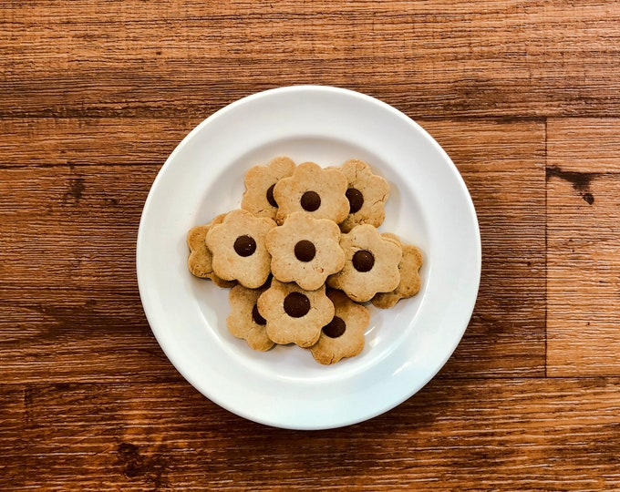Peanut Butter Carob Chip Cookies