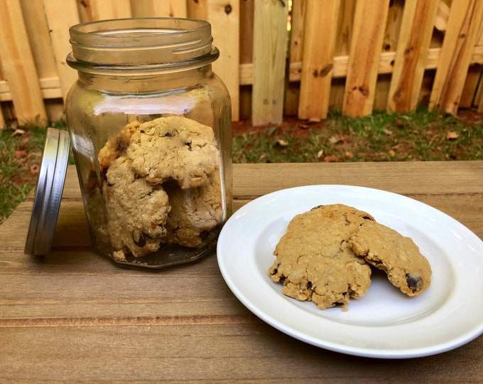 Paw Paw's Famous Carob Chip Cookies