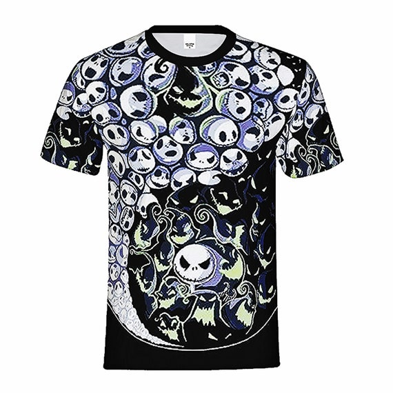NIGHTMARE BEFORE CHRISTMAS JACK T shirt Iron on Transfer 8x10-5x6-3x3