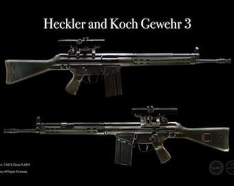 Heckler and koch | Etsy