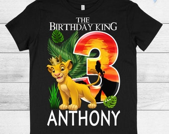 NEW King Kong Personalized Birthday Party Favor Gift T-Shirt