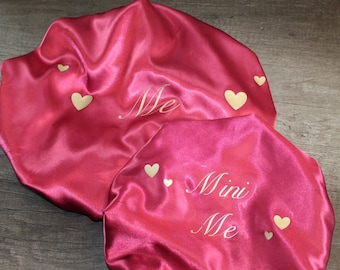 Personalized Mommy & Me Bonnets
