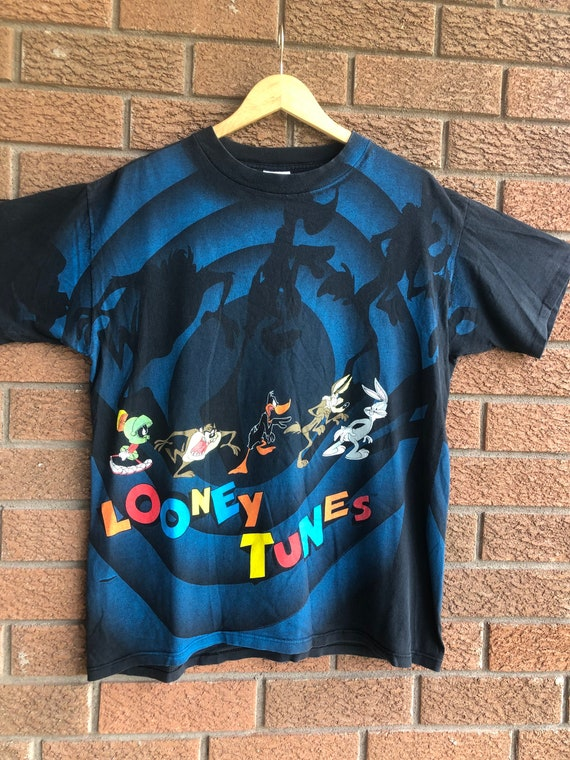 Vintage '92 Looney Tunes Characters All Over Print