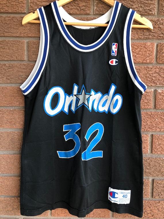 Vintage Shaquille O'Neal Orlando Magic Champion Je