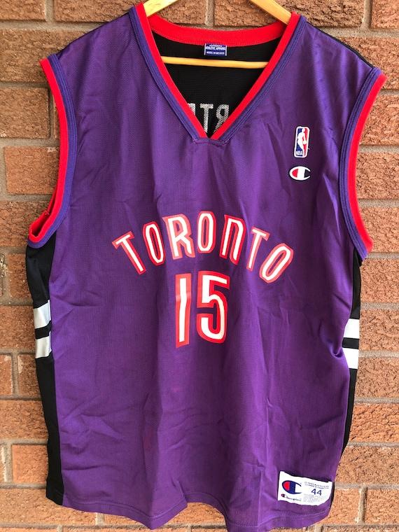 Vince Carter Toronto Raptors Champion Jersey