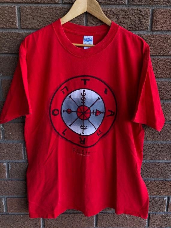 2002 Rush Vapor Trails Tour T-shirt
