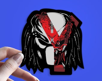 Predator Stickers Etsy