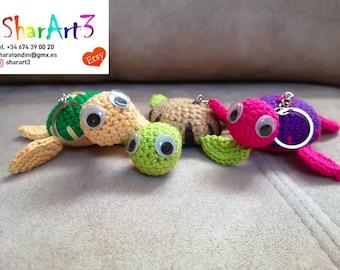 Tiny PIKACHU. Kawaii crochet amigurumi llavero muñeca | Etsy | 270x340