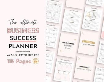 Business Planner, Productivity, online business planner, business bundle planner, small business, social media planner, Etsy shop planner