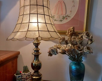 6 Sea Shell Chandelier Shades mini clip on crystal shades