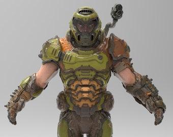 Doom Cosplay Etsy