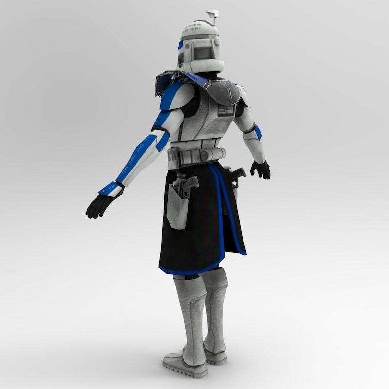 Captain Rex Phase 2 Wearable Armor for EVA Foam