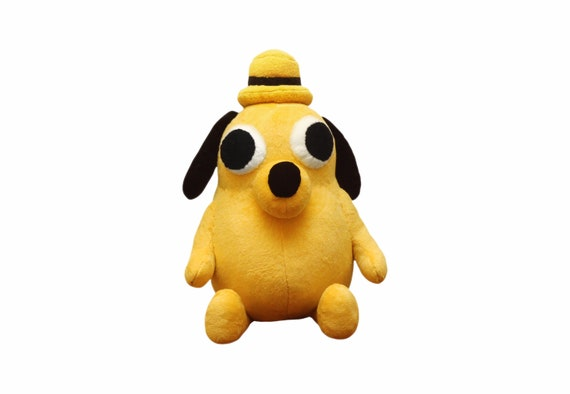 This Is Fine Dog Stuffed Animal, The Dog This Is Fine Etsy