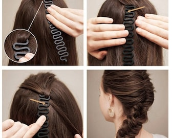 1000 CLEAR HAIR BANDS Braids Braiding Plaits Ponytail Ideal For Nappy cakes