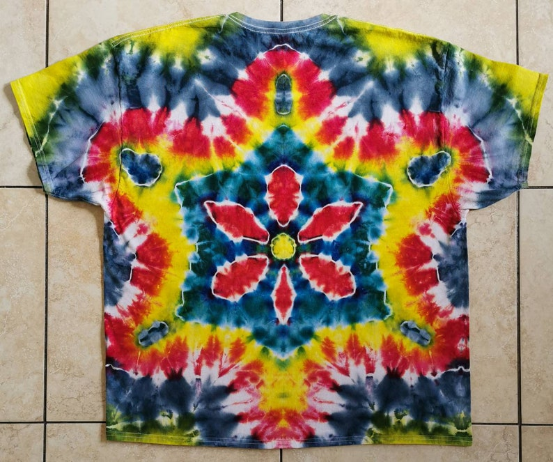Flower Tie Dye T-shirt