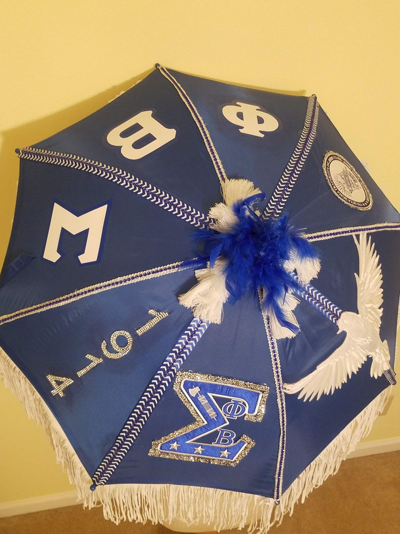 Greek Themed Umbrella
