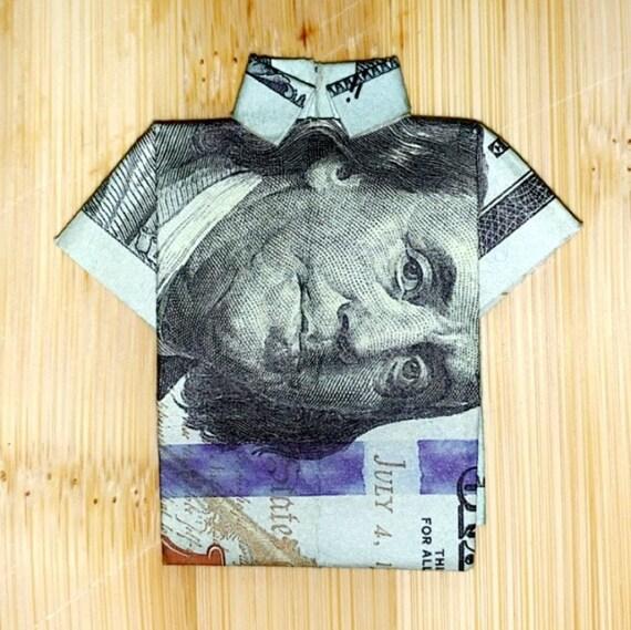 Dollar Origami Shirt & Pants - Make a Dollar Bill Pant Suit ... | 569x570