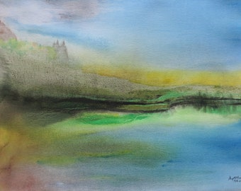 Original Abstract Landscape
