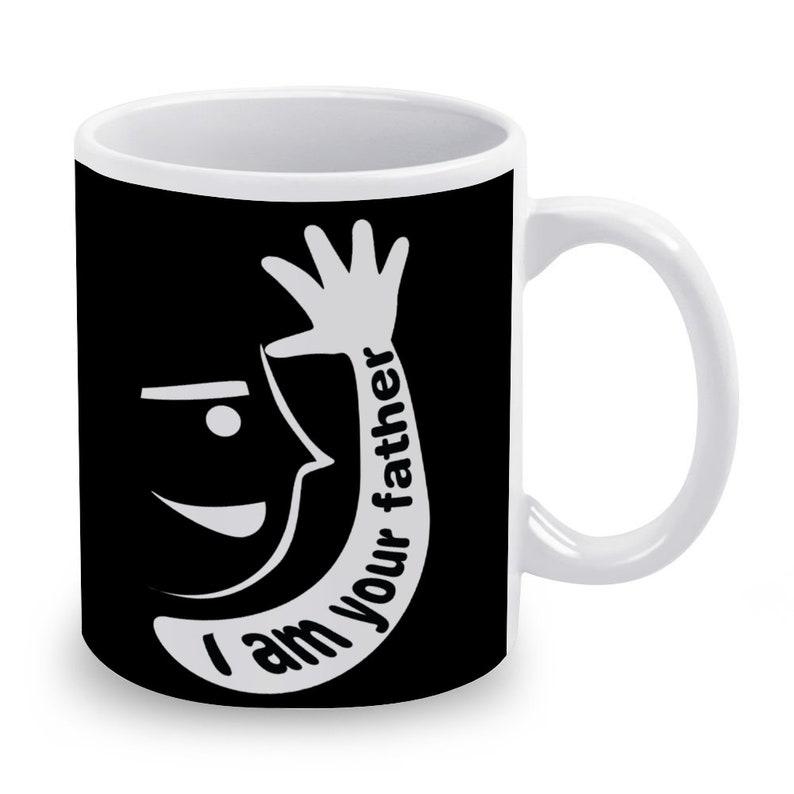 I am Your Father in Sign Language Ceramic Coffee Mug 11 Oz 2 image 0