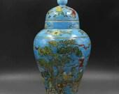 Chinese antique porcelain Qing dynasty Kangxi style famille rose fencai porcelain lidded lid jar general jar,Ornament,ceramic vintage