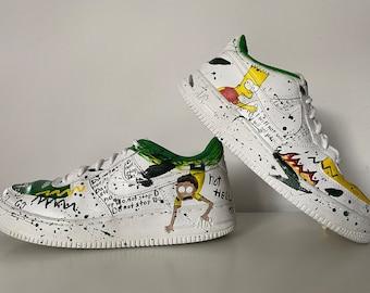 Simpson custom shoes | Etsy